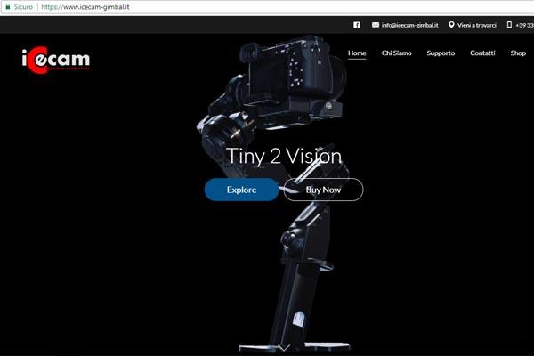 icecam-gimbal portfolio hashtagweb